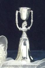 Brautbecher Sissi Feinzinn reine Handarbeit 20 cm